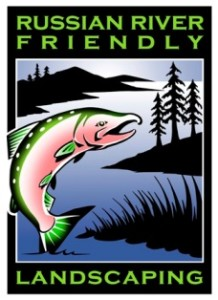 Russian River-friendly landscaping logo