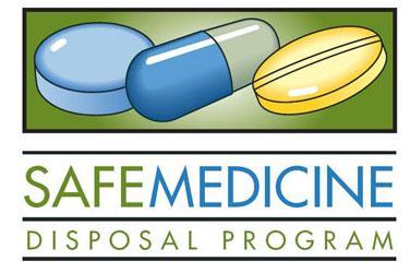 Safe medicine disposal program logo