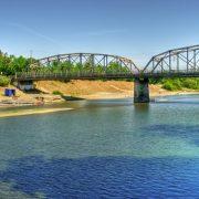 Russian River near healdsburg bridge