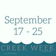 Creek Week 2016 logo