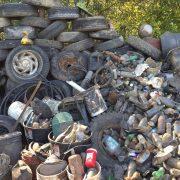 Trash Collected at Laguna Clean Up